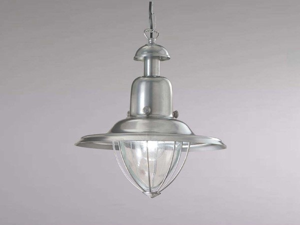 Luminaire classique pour cuisine suspension alu temp te for Lampes de cuisine suspension