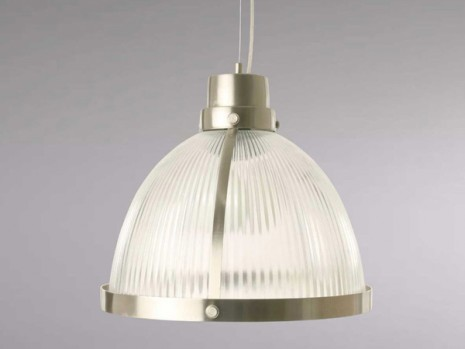 Luminaire design pour cuisine suspension en verre sampa for Suspension cuisine industrielle