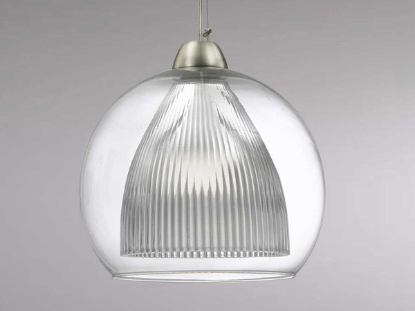 Luminaire design pour cuisine suspension en verre sampa for Suspension cuisine originale