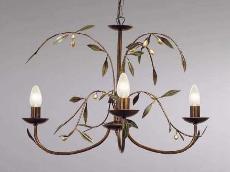luminaire florale pour couloir lustre olivier n 3 sampa. Black Bedroom Furniture Sets. Home Design Ideas