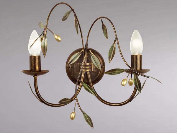 luminaire florale pour escalier applique olivier sampa. Black Bedroom Furniture Sets. Home Design Ideas