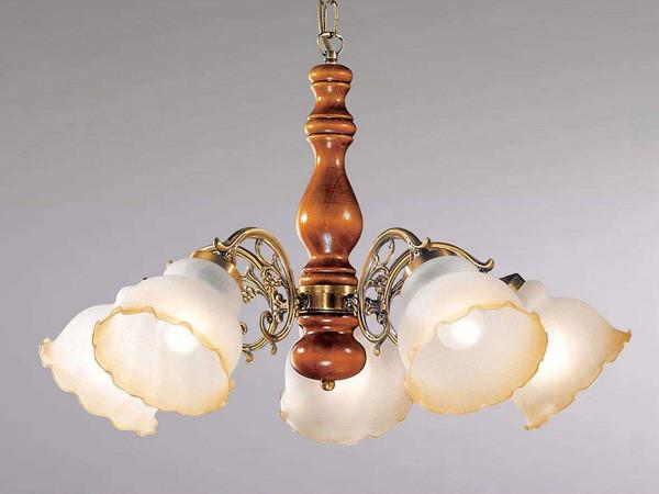 luminaire classique pour sejour lustre bois n 5 sampa. Black Bedroom Furniture Sets. Home Design Ideas