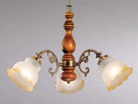 luminaire classique pour sejour lustre bois n 3 sampa. Black Bedroom Furniture Sets. Home Design Ideas