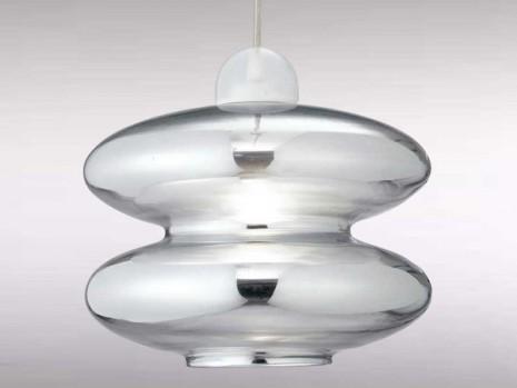 Luminaire design pour cuisine suspension verre sampa Suspension pour cuisine design