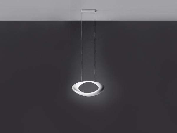 Luminaire design pour salon artemide cabildo suspension for Suspension contemporaine salon