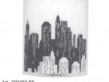Applique verre Manhattan